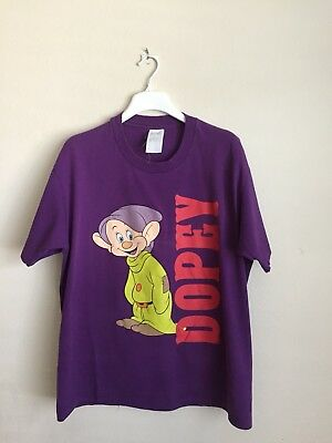 d4a0e4ed Vintage 90s Double Graphics Dopey T Shirt Disney Mickey Mouse Snow White  Gucci