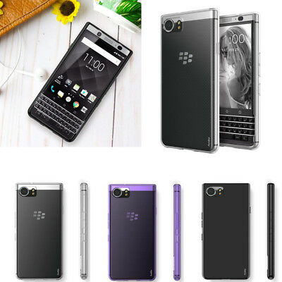 For BlackBerry KeyOne Case Slim Gloss Soft Gel TPU Silicone Case Skin Cover