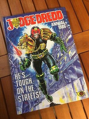 Retro Judge Dredd Annual 1986