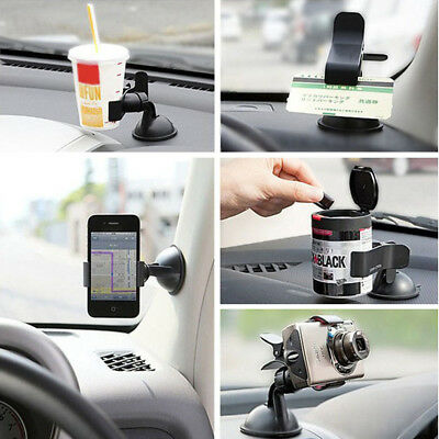 Universal 360° Rotating Car Windshield Cellphone Mount Stand Cradle GPS Holder