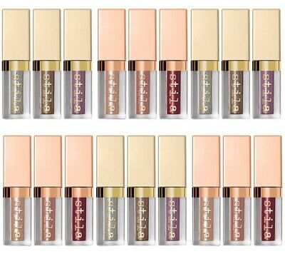 Stila GLITTER or SHIMMER & Glow Liquid EyeShadow Travel SZ FREE COMBINED SHIPPNG