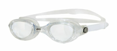 Zoggs Swimming Goggles Phantom Adult Clear Lenses Quick Adjustable UV Protection