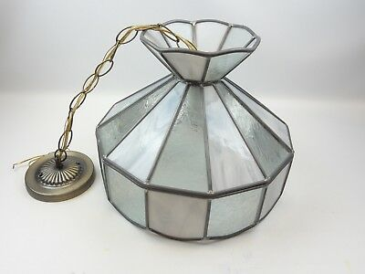 Tiffany Style Leaded Stained Glass Hanging Lamp Chandelier Lighting Bar Light