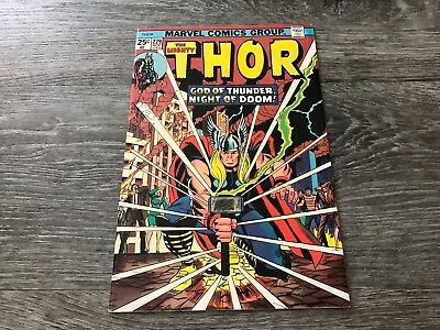 Thor #229 (Marvel Comics) 1st App Wolverine in Ad Form Rare HTF