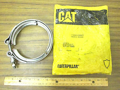 Caterpillar 1W2431 Heavy Duty Stainless Steel V-Band Clamp for CAT or S400 - NEW