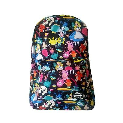 Disney Alice in Wonderland Mad Tea Party Mad Hatter Backpack by Loungefly NEW