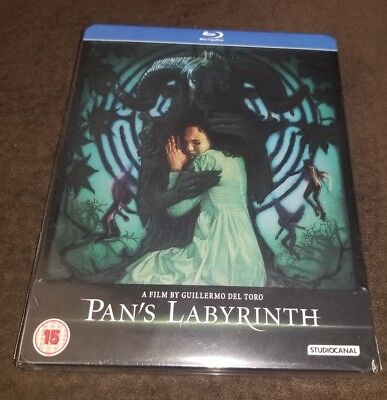 Pan's Labyrinth Steelbook Blu-Ray UK BRAND NEW SEALED OOP