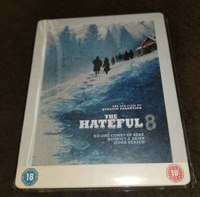 The Hateful Eight (8) Embossed STEELBOOK (Blu-ray, UK) HMV Exclusive NEW SEALED