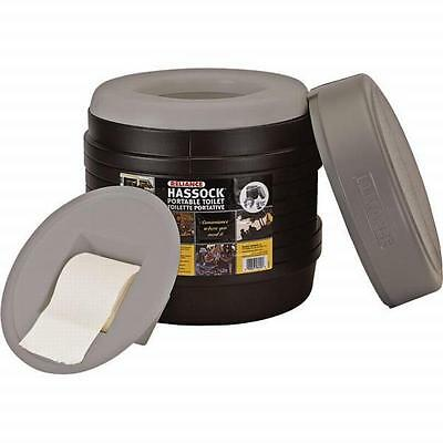 Reliance Hassock Toilet - Lightweight, Self-Contained, Perfect For Remote Sites