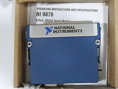 National Instruments NI 9870 4-Port RS232 C Series Serial Interface Module