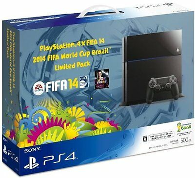 NEW PS4 FIFA World Cup Brazil 2014 Limited Pack with FIFA 14 DLC Japan F/S