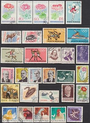 Romania Collection Of (62) Stamps  Cto And Used