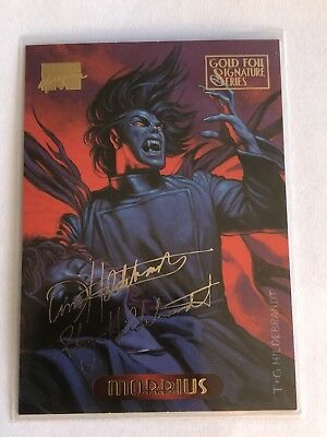 1994 Fleer Marvel Masterpieces Gold Foil Signature Series Card #79 Morbius