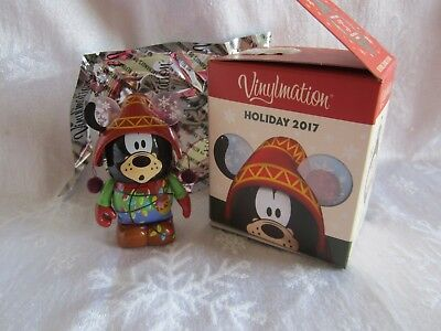 Disney Vinylmation Happy Holidays 2017 Goofy Eachez