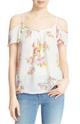 339f4bfe29e4e NEW  200 JOIE adorlee silk Floral tunic tank BLOUSE TOP SIZE M ...