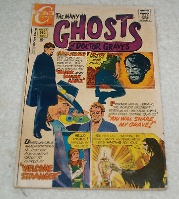 The Many Ghosts of Dr. Graves # 23 (Dec 1970, Charlton)