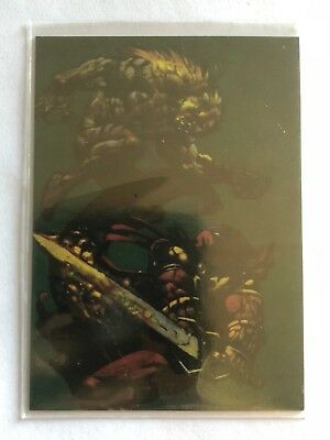 1995 Marvel Versus DC Limited Edition Subset Holo F/X 1/12 Sabretooth