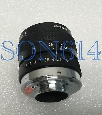 1x COMPUTAR Lens 50mm 1:1.8 CS For CCTV Security Surveillance Camera