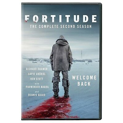 Fortitude-Season 2 (DVD 2017/3 Disc)NEW- FAST FREE SHIPPING