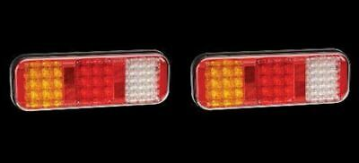 2 x Narva 94210 LED Combination Trailer Lights Stop Tail Indicator Reverse