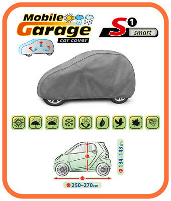 HEAVY DUTY BREATHABLE CAR COVER  FOR  SMART FORTWO 1998 - 2007  Mk1