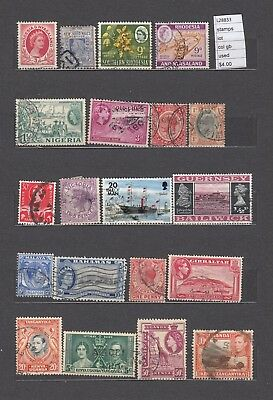 Lot Stamps British Colonies Used  (L28833)