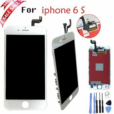 White Touch Digitizer+LCD Display Glass Screen Assembly For iPhone6s 4.7''