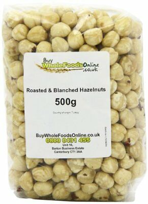 Buy Whole Foods Hazelnuts Whole Roasted and Blanched 500 g