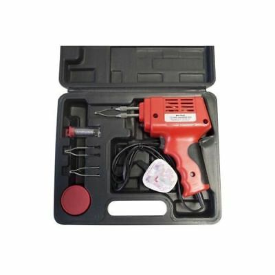 175W Electric Electrical Solder Soldering Iron Gun Kit 230V 2 Spare Tips New Uk