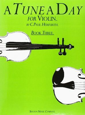 A Tune A Day For Violin Book Three Vln