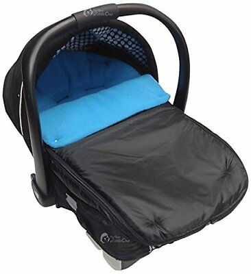Car Seat Footmuff  Cosy Toes Compatible with Joie Turquoise