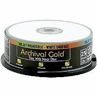 Delkin Europe 25Printable CD-R Archival Gold Digital Photo Storage Protection i