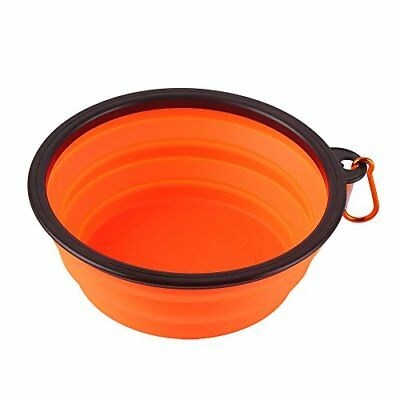 Large Collapsible Dog Bowl, Silicone Travel Portable Pet Dog Cat Food Water Bowl
