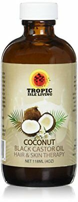 Jamaican Coconut Black Castor Oil 4oz