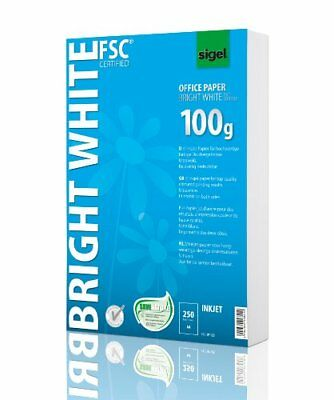 Sigel A4 Office Paper - Bright White 250 Sheets