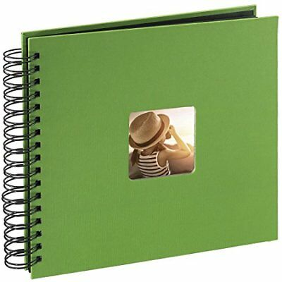 Hama Fine Art photo album, 50 black pages 25 sheets, spiral album 28 x 24 cm,