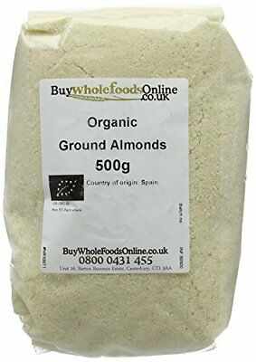 Buy Whole Foods Organic Ground Almonds 500 g