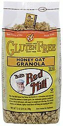 BobS Red Mill Honey Oat Gluten Free 12 Oz Pack of 4