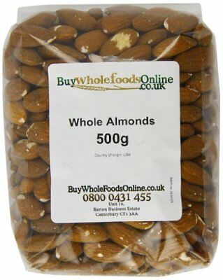 Buy Whole Foods Almonds Whole 500 g
