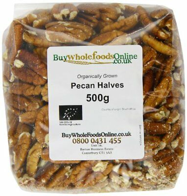 Buy Whole Foods Organic Pecan Nut Halves 500 g