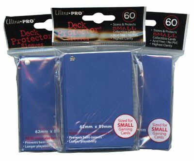 Ultra Pro Card Supplies YuGiOh Sized Deck Protector Sleeves Royal Blue 60 Count