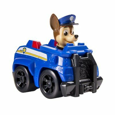 Paw Patrol Rescue Racers - Chase - Blue Squad Car w Working Wheels