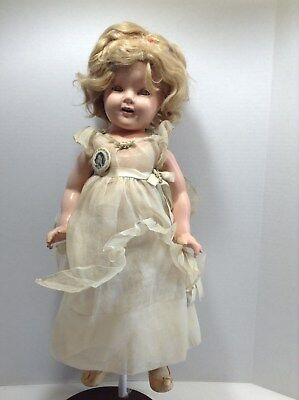 Vintage 1930s Ideal Shirley Temple Composition Doll Near Mint 18""