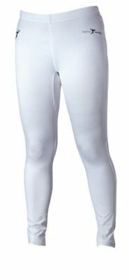 Precision Base Layer Leggings - White, Size S 30-32 Inch