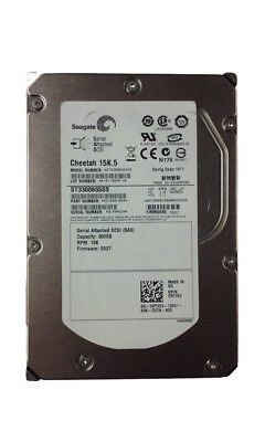 "Lot of 10 Seagate Cheetah 15K.5 ST3300655SS 300GB 3.5"" SAS Server Hard Drive"