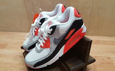 NIKE WMNS AIR Max 90 OG [742455 100] NSW Running WhiteGrey