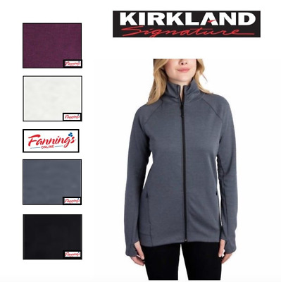 Kirkland Signature Ladies' Women's Full Zip Jacket Size and Color VARIETY