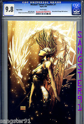 """Soulfire #1 (CGC 9.8) """"VIRGIN"""" cover & FATHOM #8 Canadian Expo Speckle Foil"""