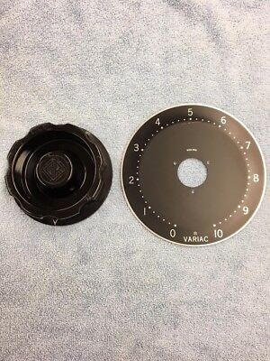 Five Inch Variac Knob and Scale Ring