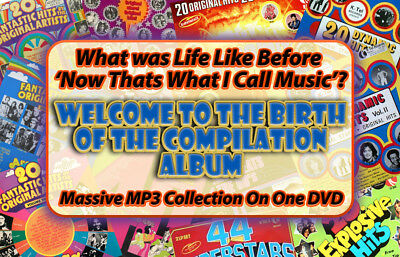 70's Compilation Album Collection K-Tel Arcade & Ronco MP3 DVD